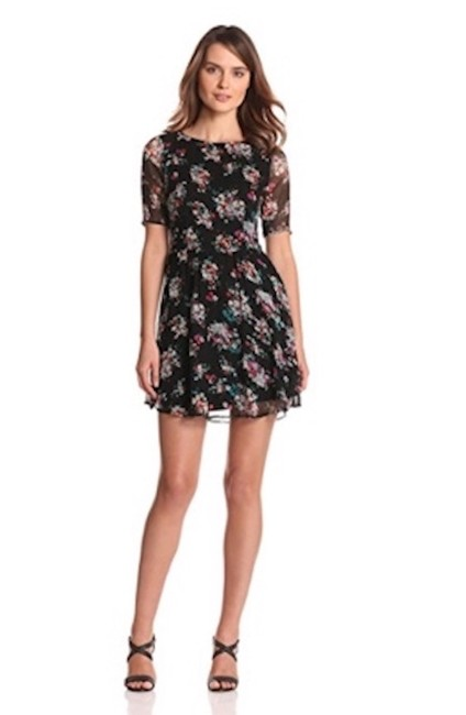 Preload https://item5.tradesy.com/images/ella-moss-black-with-flowers-edzyp13995-short-workoffice-dress-size-12-l-22914194-0-0.jpg?width=400&height=650