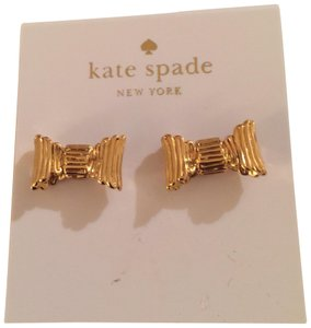 Kate Spade Kate Spade bow earrings