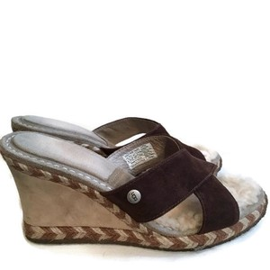 UGG Australia Brown Wedges