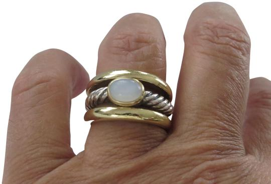 Preload https://item3.tradesy.com/images/david-yurman-goldsilver-bamboo-collection-ss18k-moonstone-ring-22914252-0-3.jpg?width=440&height=440