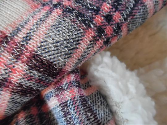 Unbranded Plaid Fleece Super-Soft Infinity Scarf