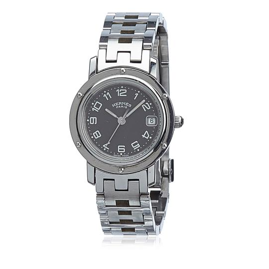 Preload https://item2.tradesy.com/images/hermes-silver-clipper-watch-22914306-0-0.jpg?width=440&height=440