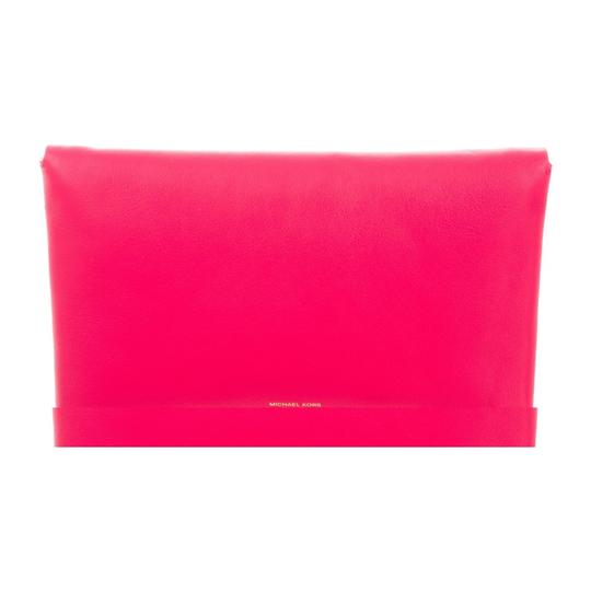 Michael Kors Collection Pink Clutch