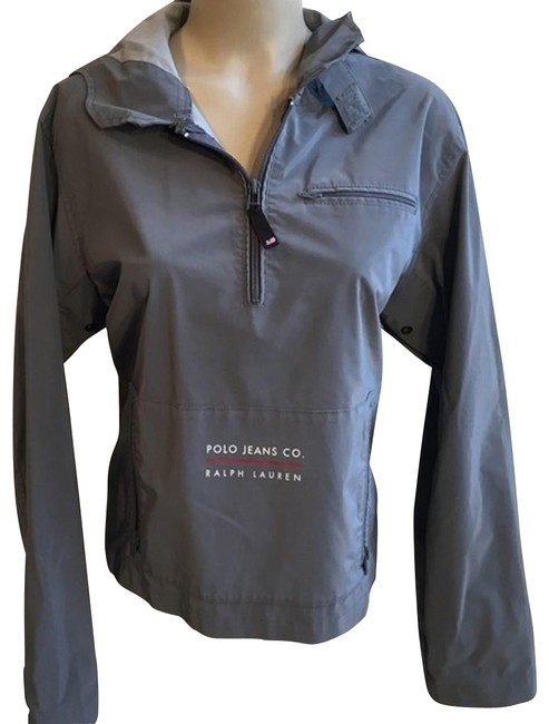 Preload https://item3.tradesy.com/images/ralph-lauren-gray-polo-jeans-co-hoodie-spring-jacket-size-10-m-22914367-0-1.jpg?width=400&height=650