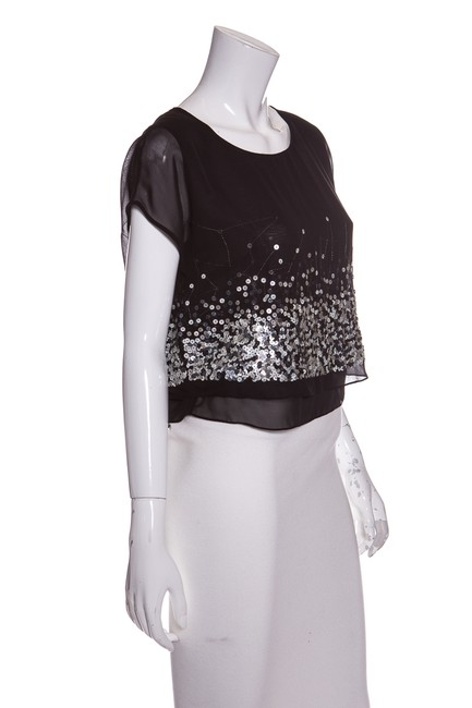 Robert Rodriguez Top Black & Silver