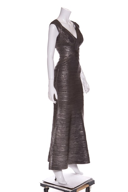 Grey Maxi Dress by Hervé Leger