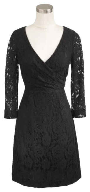 Preload https://item4.tradesy.com/images/jcrew-black-factory-floral-lace-v-neck-mid-length-short-casual-dress-size-4-s-22914433-0-1.jpg?width=400&height=650