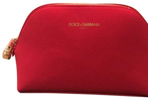 Dolce&Gabbana Red Travel Bag