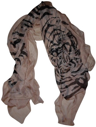 Preload https://item2.tradesy.com/images/d-and-y-buffnude-black-tiger-print-sheer-sparkly-shawl-scarfwrap-22914601-0-1.jpg?width=440&height=440