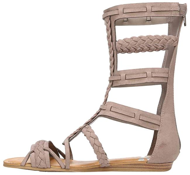 Item - Taupe Zaille Braided Cage Gladiator Sandals Size US 9 Regular (M, B)