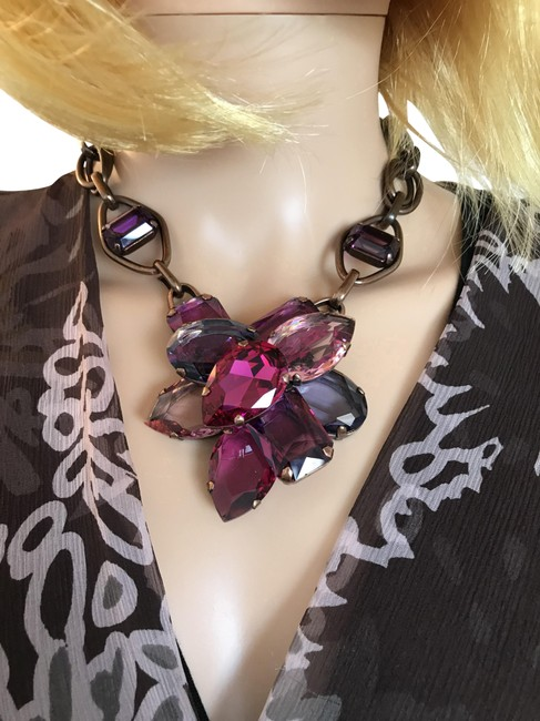 Item - Purple Statement Necklace