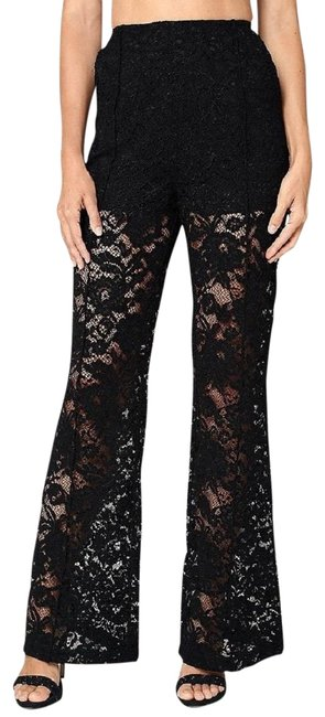Preload https://item3.tradesy.com/images/bebe-black-lace-style-285162-30d0101ah52-flared-pants-size-6-s-28-22914717-0-2.jpg?width=400&height=650