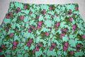 Forever 21 Teal Green Olive Rose Beige Floral Pleated Short Skirt Size 4 (S, 27) Forever 21 Teal Green Olive Rose Beige Floral Pleated Short Skirt Size 4 (S, 27) Image 2