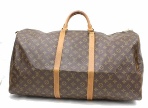 Louis Vuitton Keepall Keepall 60 Neverfull Speedy Bandouliere Brown Travel Bag