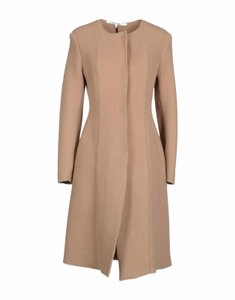 Hache Camel Wool Made In Italy Winter Trench Coat