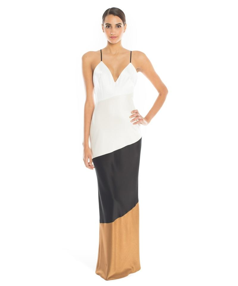 A.B.S. by Allen Schwartz 4th Sale Abs Lena Colorblock Satin Slip ...