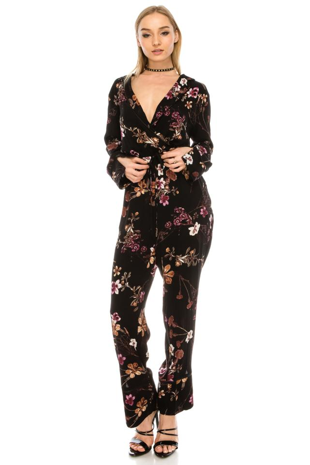 9c7d5aa0e772 re named Multicolor Floral Romper Jumpsuit - Tradesy