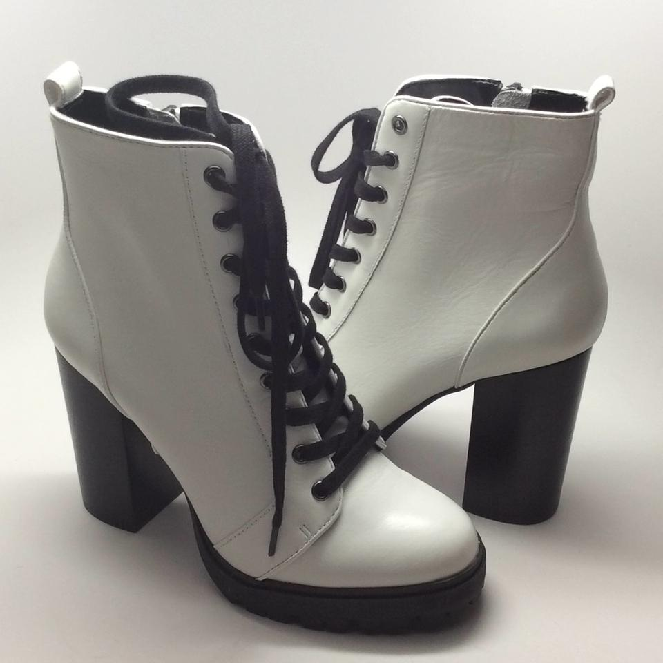3f02230cc72 White Laurie Boots/Booties