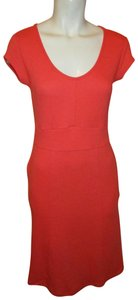 Toad&Co short dress coral Knit Stretchy on Tradesy