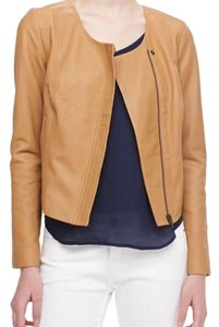 Joie brown tan Leather Jacket