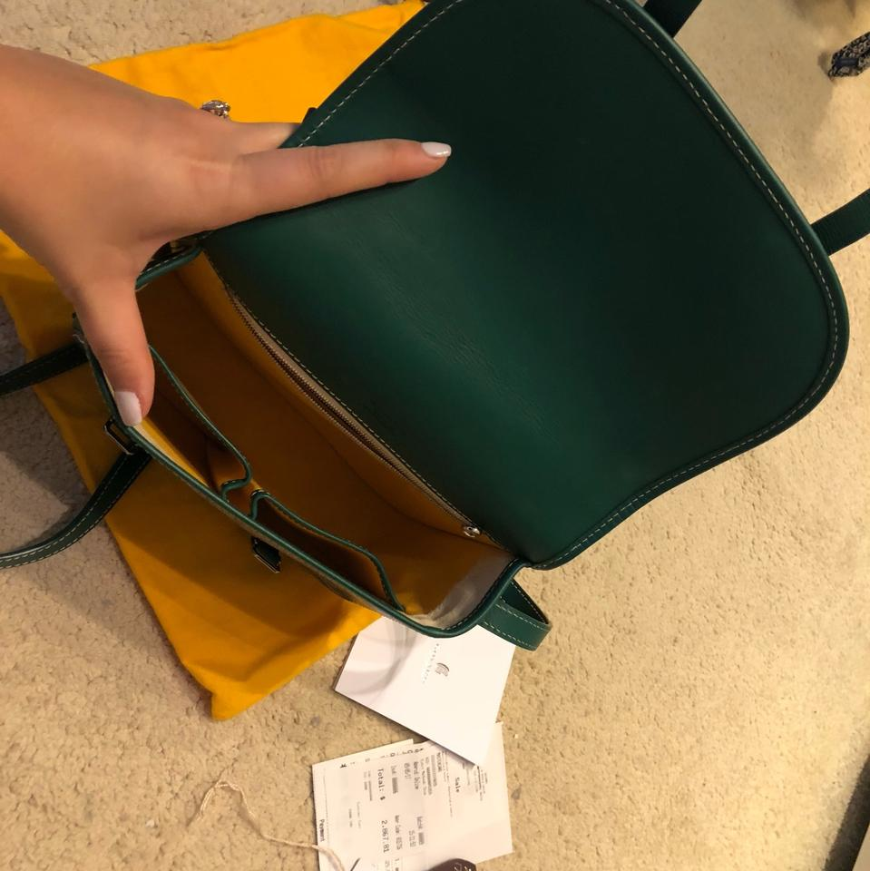 7a8701706c7b Goyard Sac Belvedere Pm Vert Emerald Green Leather Cross Body Bag ...