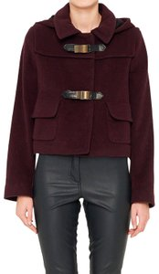 See by Chloé Cropped Buckles Trench Coat