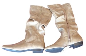 White Mountain Taupe/Brown/Beige Boots