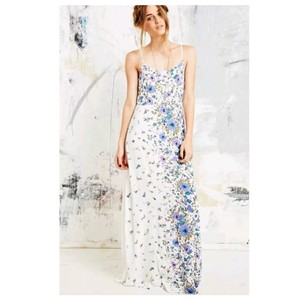 white purple Maxi Dress by Urban Outfitters