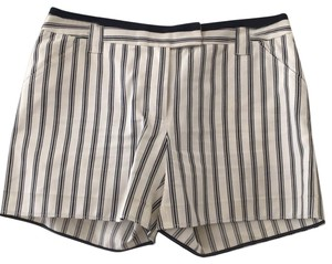 Tory Burch Dress Shorts cream with navy stripes