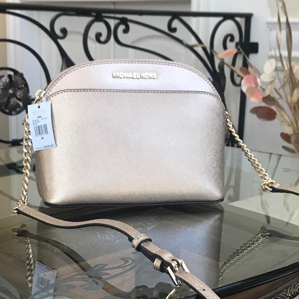 d43bea9a3c5c Michael Kors Tulip Leather Spring Gift Next Day Shipping Cross Body Bag  Image 0 ...