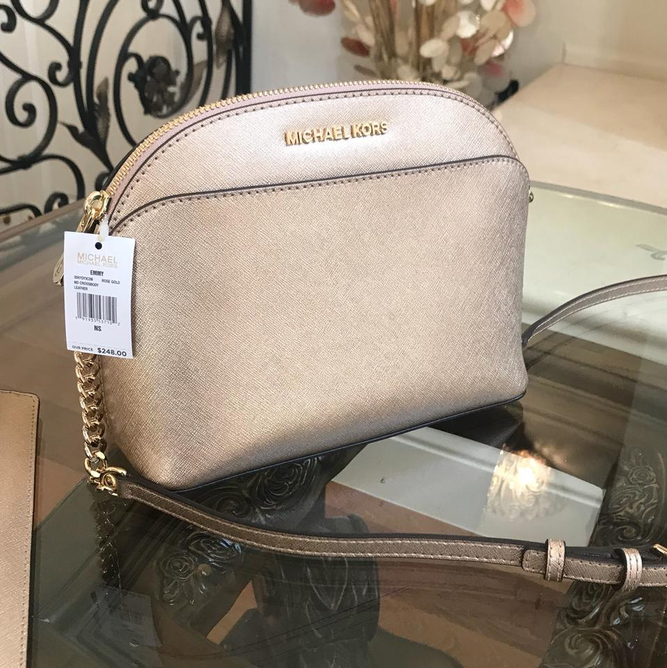 48a878d19963 Michael Kors Tulip Leather Spring Gift Next Day Shipping Cross Body Bag  Image 7. 12345678