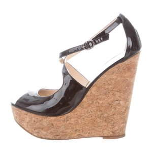 Alexandre Birman black Wedges