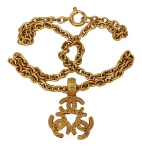 Chanel CHANEL GOLDEN CHARM NECKLACE