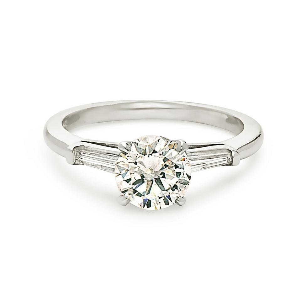 insanely t use single gold solitary diamond engagement petite band a that sparkly pin rings round tapered prong don rose