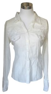 American Rag Button Down Shirt White