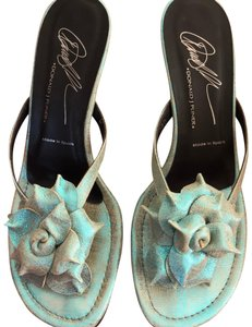 Donald J. Pliner Iridescent Turquoise Formal