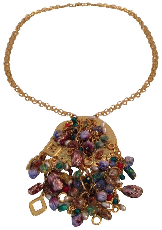 French .gold with Assorted Cabachons and Faceted Colored Gemstones ... b323d071b27c