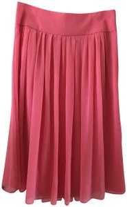 White House | Black Market Flare Casual Business Skirt pink