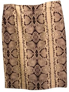 J.Crew jcrew no 2 python suit skirt