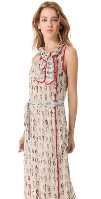 Valentino Silk Nautical Dress