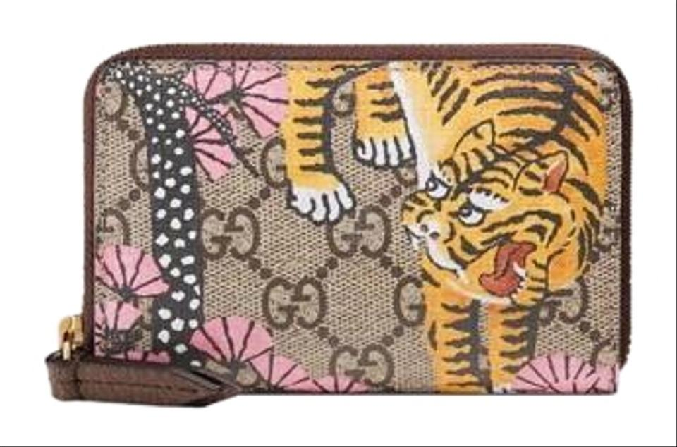 best service ed9bb 7e4fc Gucci Bengal Card Case Wallet