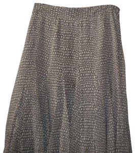 Charter Club Silk A Line Lined Skirt Multi-Color