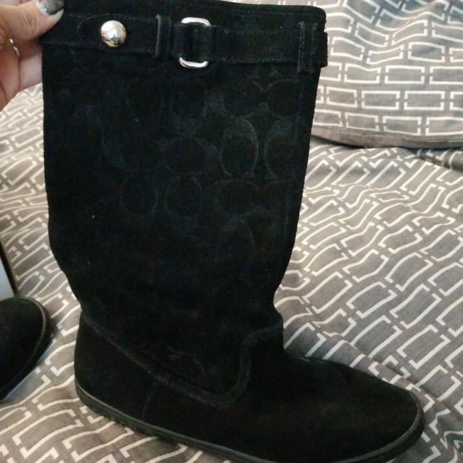 Coach Black Na Boots/Booties Size US 5.5 Regular (M, B) Coach Black Na Boots/Booties Size US 5.5 Regular (M, B) Image 1