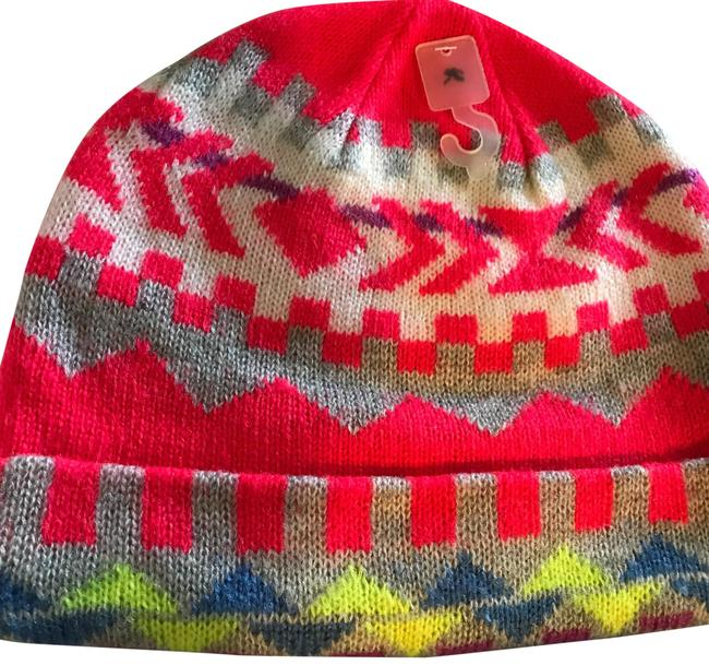 Item - Bright Color Acrylic Beanie Hat