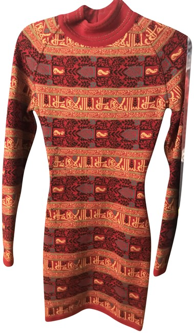 Preload https://img-static.tradesy.com/item/22918622/alaia-red-with-arabic-calligraphy-kufic-script-short-cocktail-dress-size-0-xs-0-1-650-650.jpg