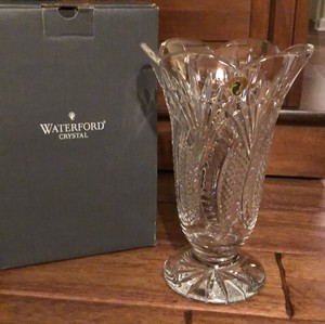 "Waterford Seahorse Vase 10"" Decoration"
