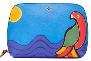 Tory Burch Tory Burch Kerrington Parrot Cosmetic Case