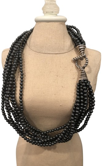Preload https://img-static.tradesy.com/item/22919192/tiffany-and-co-hematite-multi-strand-onyx-sterling-toggle-clasp-bead-necklace-0-3-540-540.jpg