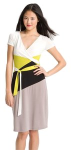 BCBGMAXAZRIA short dress Color-blocking on Tradesy