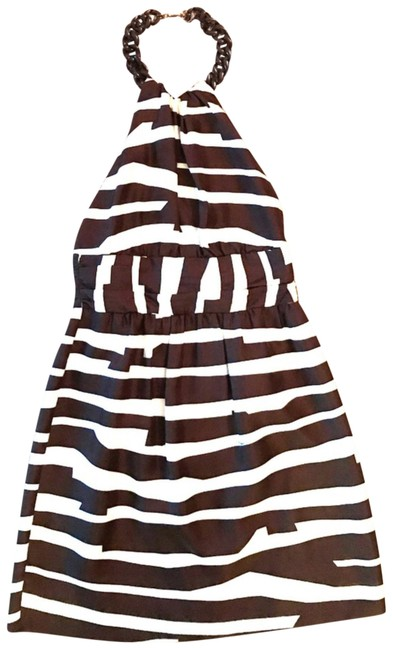 Preload https://img-static.tradesy.com/item/22919483/milly-brown-and-cream-zebra-print-short-cocktail-dress-size-2-xs-0-1-650-650.jpg
